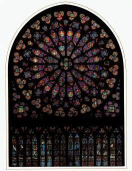 Notre Dame de Paris Rose Süd