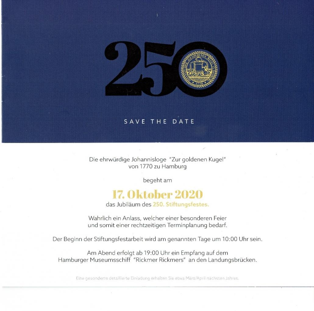 """""""Zur goldenen Kugel"""" feiert sein 250-jähriges Jubiläum"""